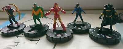 5 Marvel Heroclix Avengers Infinity NEW Hawkeye Vision Ironman Black Panther  • 5£