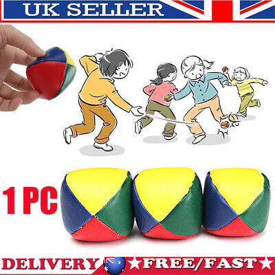1x Juggling Ball Classic Bean Bag Juggle Magic Circus Beginner Kid Child Fun Toy • 3.79£