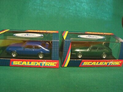 Scalextric Pair C2059 / C2060 Ford Capri's Keeping The Legend Alive - Bnib  • 125£