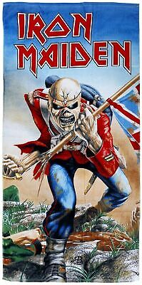 Iron Maiden - The Trooper Bath Towel / Beach Towel 75 X 150 Cm • 24.95£