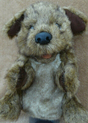Folkmanis Brown Puppy Puppet • 5£