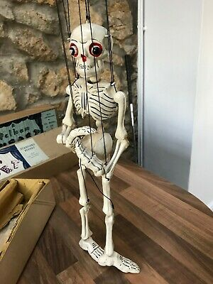 Pelham Puppets SM Skeleton, Early Original Disjointing 18  With Instructions,  • 51£