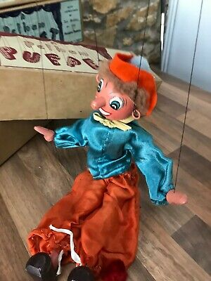 Pelham Puppets Artist, Wonky Toys, Early Vintage Original Box, Good Condition • 265.58£
