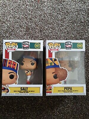 FUNKO POP SALT #167 & PEPA #168 FROM 90s MUSIC GROUP SALT & PEPA BRAND NEW OUT  • 22.99£