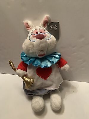 Disney Store Alice In Wonderland White Rabbit Plush Toy Brand New With Tags • 29.99£