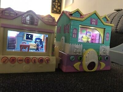 Rare 2006 Pixel Chix Babysitter House And Cottage Interactive Game - WORKING • 25£