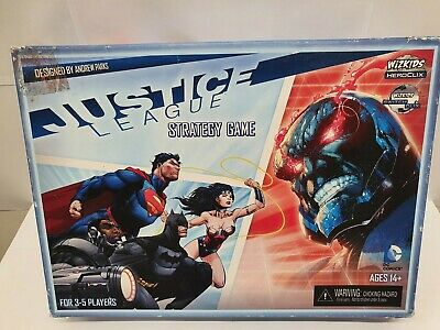 Justice League Strategy Game Unused (Wizkids Heroclix & Board Game) • 14.95£