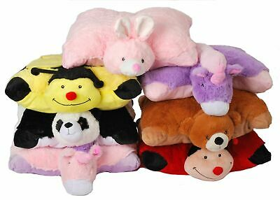 Soft Cushion Pet Pillows Cuddle Buddy Animal Pillow Unicorn Ladybird Bumble Bee • 6.99£