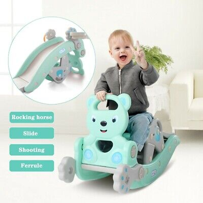 4-In-1 Child Climbing And Rocking Horse Suit For Indoor And Backyard Baskets • 44.99£