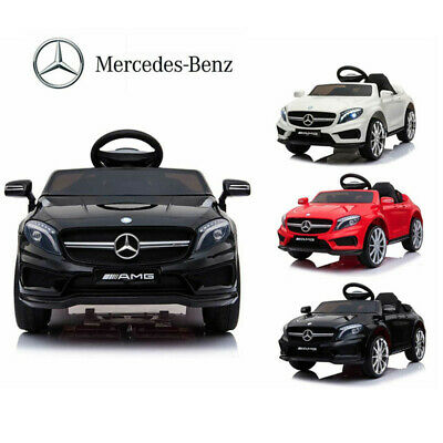 12V Ride On Car Electric Licensed MERCEDES BENZ AMG GLA45 Twin Motor Remote Kids • 109.99£