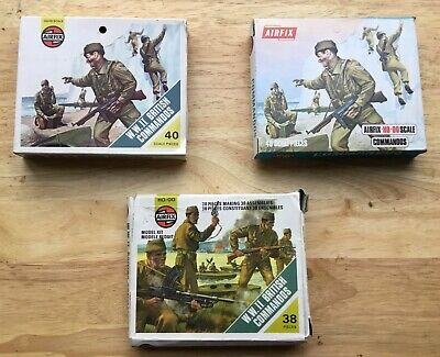 Airfix HO/OO WW2 British Commandos 3 Different Boxed Sets  • 14.99£
