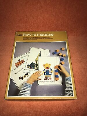 Galt How To Measure Educational Game Vintage  • 8.49£