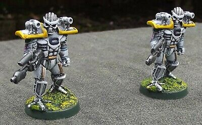 Warzone Cybertronic Chemimen 2 Painted Figures Target Games • 6£