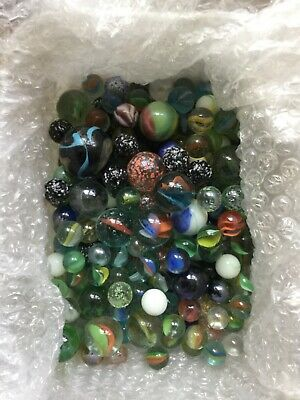 Vintage Marbles, Various Sizes And Colours • 5£