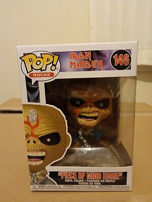 Funko Pop Iron Maiden Piece Of Mind Eddie • 7.50£