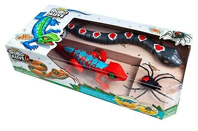 Robo Alive Combination Pack - Spider, Lizard And Snake - Brand New By Zuru • 27.49£