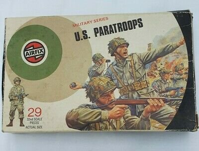 Genuine Airfix 1:32 U.S. Paratroops • 3£