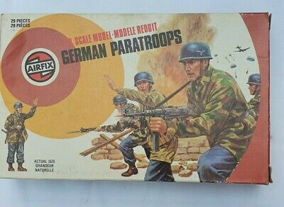 Genuine Airfix 1:32 Scale German Paratroops • 3.90£