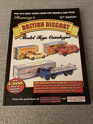 Ramsay's British Diecast Model Toys Catalogue (13th Edt) Paperback Book Rare • 9.99£