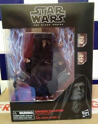 Star Wars Black Series Emperor Palpatine 6  Figure And Throne. New.  • 99.99£