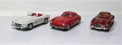 WIKING IN Set 1:87 Mercedes Benz 300 Sl Roadster & Coupe Gullwing 833 834 • 11.68£