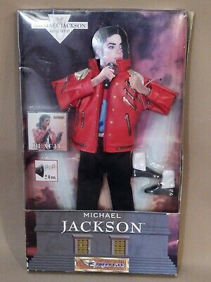 Michael Jackson Beat It Doll Stage Outfit & Cartridge Boxed, Vintage 1997  • 24.99£