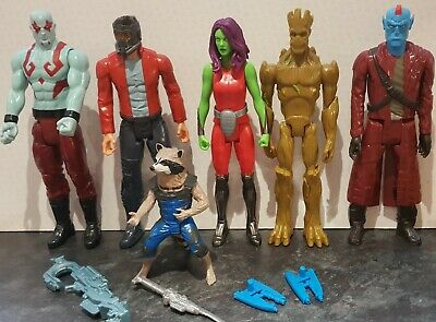 Marvel Guardians Of The Galaxy Titan Hero Series 12   X  6 Figures • 45£