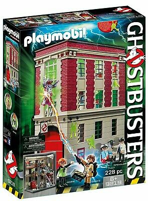 Playmobil Ghostbusters 9219 Firehouse Playset • 68.70£