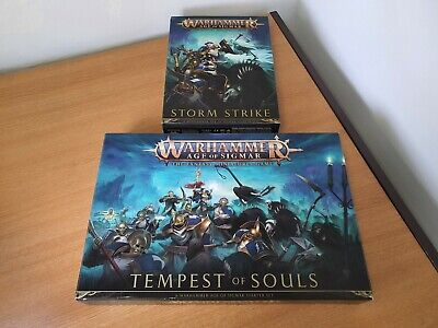 Warhammer Age Of Sigmar - TEMPEST OF SOULS & STORM STRIKE ☆☆ NEW - FAST POST ☆☆ • 52.50£