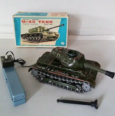 Tinplate M-40 Tank    Modern Toys  ( BOXED )      / Fantastic Condition  • 145£