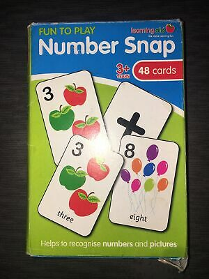 Number Snap Cards • 2.70£