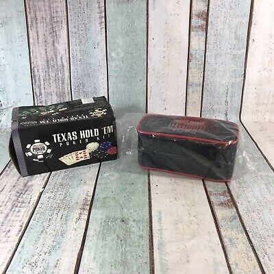 Excalibur Texas Hold 'Em Poker Chips & Carry Case Contents SEALED UNUSED • 11.04£