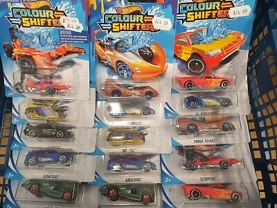 NEW 2020 Genuine Hot Wheels Colour Shifters UK Seller Color Changing Toy Car • 5.49£