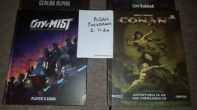 City Of Mist RPG Players Guide  • 30£