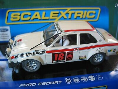 SCALEXTRIC C3313 FORD ESCORT MK1 LONDON MEXICO BNIB  • 65.99£