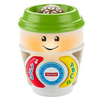 Fisher-Price GHJ04 Laugh & Learn On-The-Glow Coffee Cup Interactive Baby Toy • 8.85£