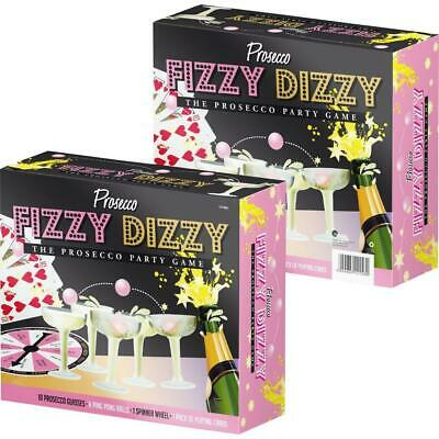 20pc Prosecco Fizzy Dizzy Party Game Drinking Ping Pong Glass Ball Xmas Fun New • 4.95£
