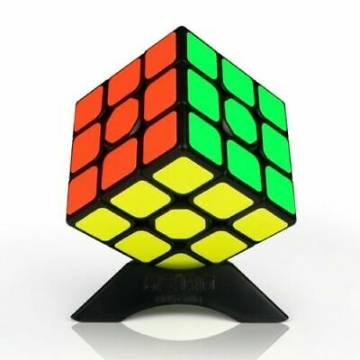 Qiyi 3x3 Smooth Fast Speed Cube Magic Puzzle Adult Toy Brain Game Mind Classic • 3.95£