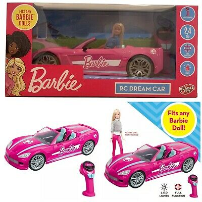Barbie Full Function Convertible Dream Car With 2.4ghz Radio Remote Control NEW • 62.99£