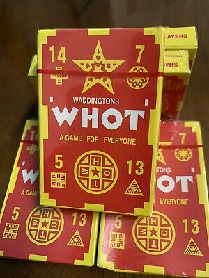Whot Card Game • 4.99£