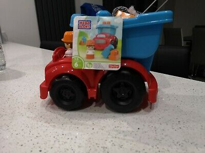 Mega Bloks Dump Truck Fisher Price-new • 5.90£