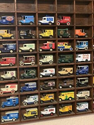 Model Cars Various  (70) With Display Cabinet • 85£