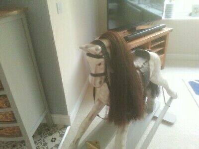Wooden Rocking Horse Used • 300£