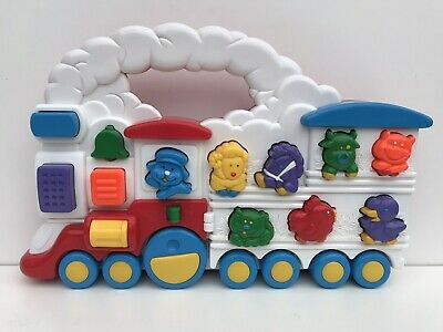 Vintage 80/90s Chicco Animal TRAIN Electronic Sounds Toy Push Along Preschool  • 16.99£