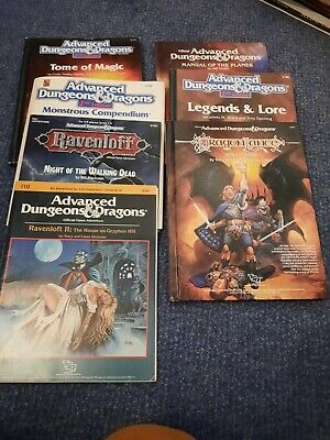 Advanced Dungeons And Dragons 2nd Edition Assorted Rules And Scenarios Including • 26.55£