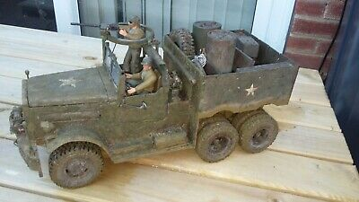 Unique 1/16 Scale Ww2 Diamond T M19 Truck. Nicely Weathered & Detailed. Not Tank • 54£