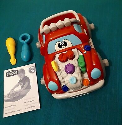 Chicco Talking Mechanic Sound Toy Car With Two Tools And Manual,24 Months And Up • 13.99£