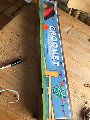Croquet Set From Professor Puzzle In Original Box, Only Used Once • 7£