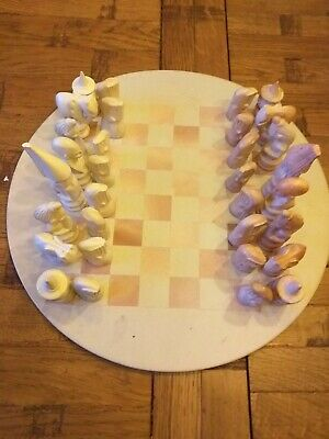 Hand Carved Soap Stone Chess Set  • 7.50£