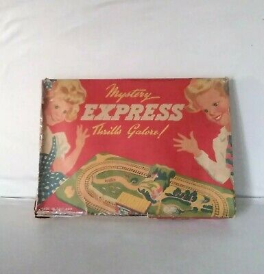 Rare Tinplate  Mystery Express  - C1960   ( EXCELLENT )  Boxed • 175£